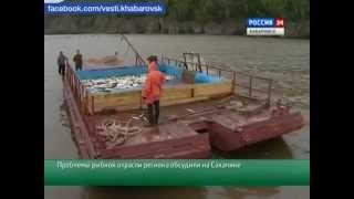 Проблемы рыбной отрасли Дальнего Востока.