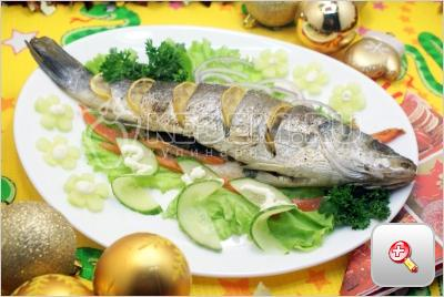 Рыба к новогоднему столу.