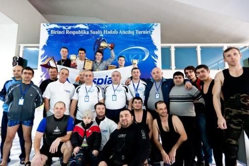 В Азербайджане определились первые победители турнира по спортивной подводной стрельбе