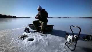 Новогодняя рыбалка в Украине.