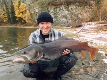 Поездка на рыбалку в Красноярский край