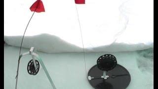 Зимняя жерлица и варианты крепления живца. Рыбацкие секреты