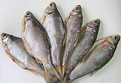 Соленую рыбу