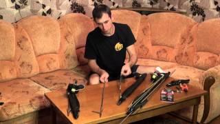 Шкиль Игорь подготовка пневматического ружья к охоте.