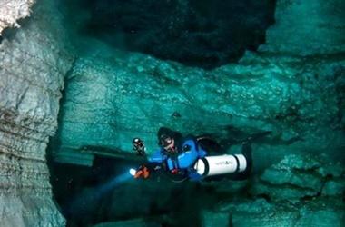 Подводные пещеры Крыма.