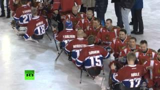Дебют паралимпийской сборной по хоккею