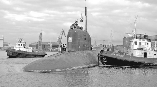 Подводный охотник нового поколения АПЛ Северодвинск