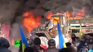 В Киеве погибло семь милиционеров