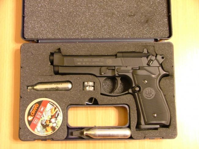 Umarex Beretta M92FS пневматический пистолет