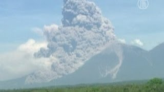 Гватемала, извержение вулкана.