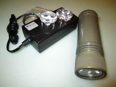 Обзор фонаря для подводной охоты и видеосъемки