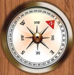 Как изготовить компас на зимней рыбалке