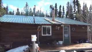 Заимка дяди Вовы на севере Канады.