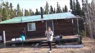 Третья поездка Дяди Вовы на заимку 17 мая 2014. Канада.