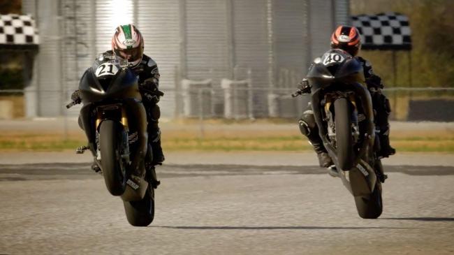 Гонки на мотоциклах в Talladega