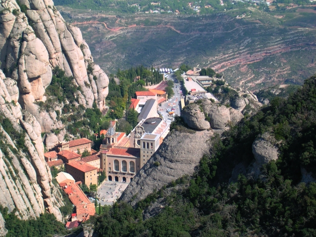 Монастырь Монтсеррат в Барселоне