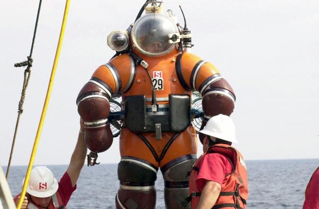 Глубоководный гидрокостюм Newtsuit