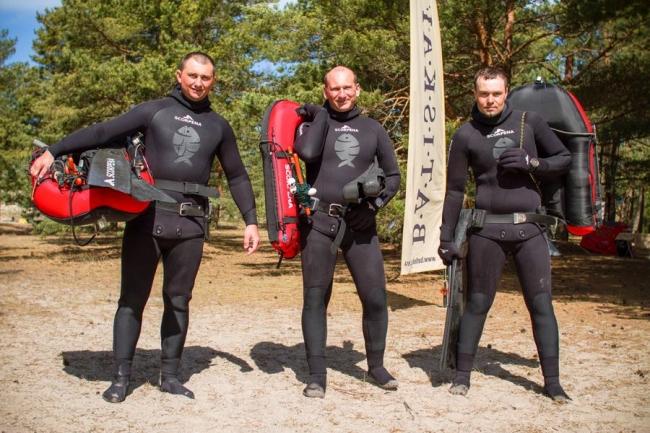 Кубок Курземе 2014 по подводной охоте.