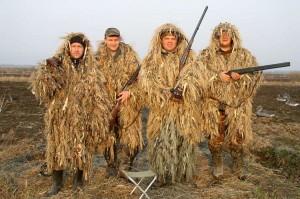 Маскировочный костюм поможет охотнику стать невидимкой