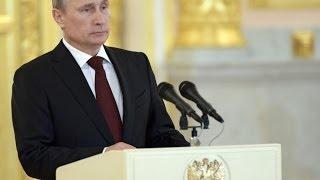 Выступление Владимира Путина на совещании послов