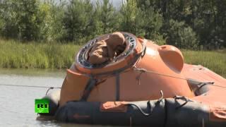 Тренировка космонавтов на воде
