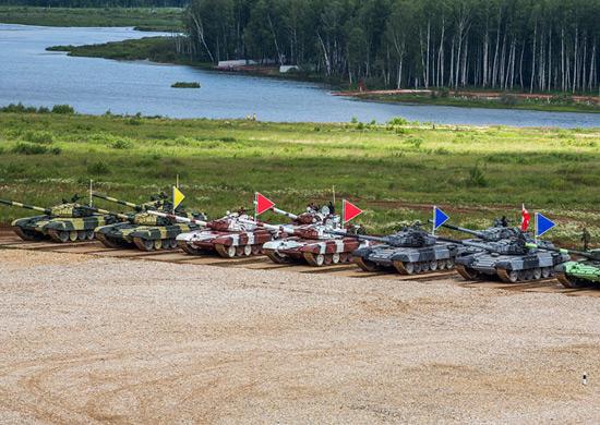 Чемпионат мира по танковому биатлону в России