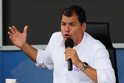 Президент Эквадора поставил на место ЕС