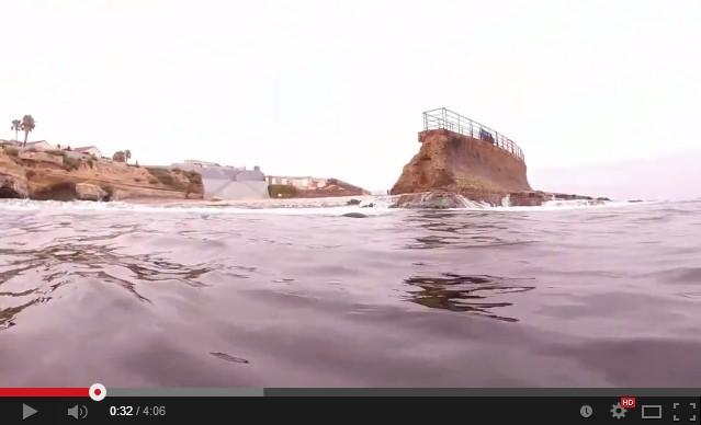La Jolla cove - морской заповедник в Южной Калифорнии