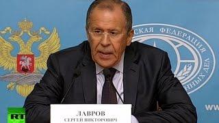 Пресс-конференция Сергея Лаврова с Ираном