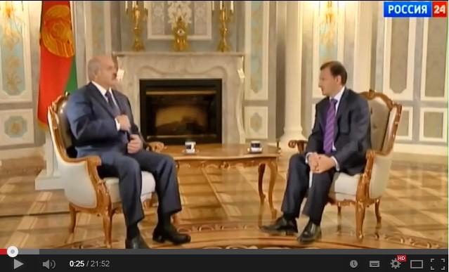 Интервью президента Беларуси Александра Лукашенко