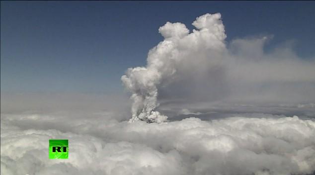 В Японии извержение вулкана Онтакэ