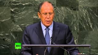 Сергея Лаврова на 69-й Генассамблеи ООН