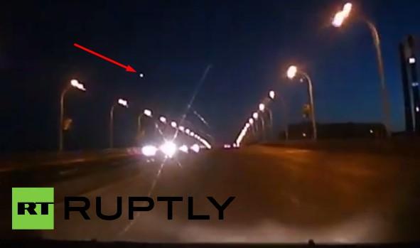 Видео: падение метеорита в Кемеровской области