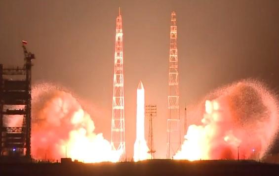 Пуск РН Протон-М  (видео HD)