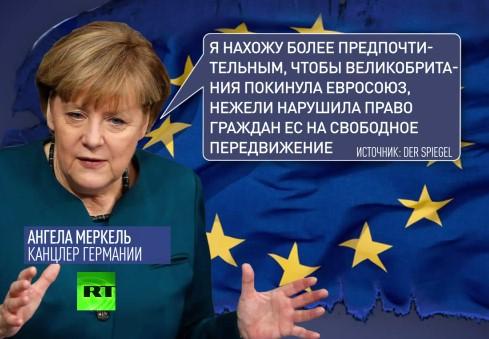 Берлин согласится с выходом Великобритании из ЕС
