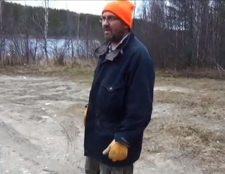 Канада жизнь на заимке. Октябрь 2014. Часть 10