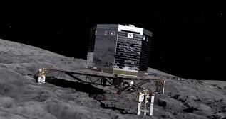 Посадка зонда Philae на комету 67P/Чурюмова-Герасименко