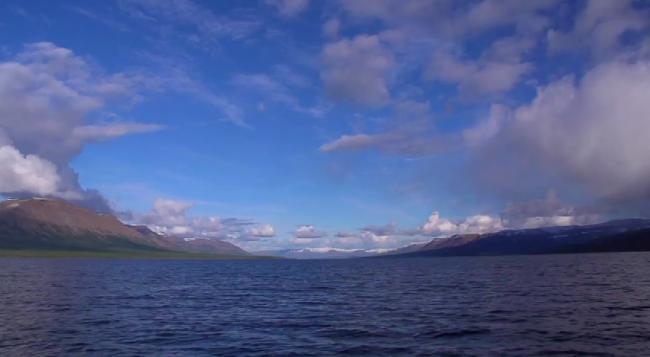 Подводная охота на плато Путорана (часть 2)