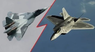 F-22 против Т-50