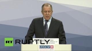 Пресс-конференция Сергея Лаврова 05.12.2014
