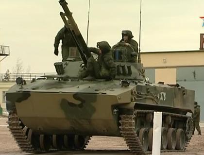 Испытания БМД-4M в войсках