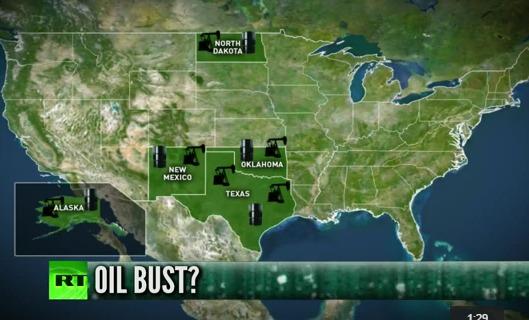 США испытывает трудности из-за низких цен на нефть
