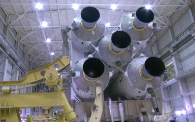 Вывоз ракеты-носителя Ангара-А5