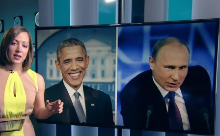 Демократия vs диктатура: Путин и Обама