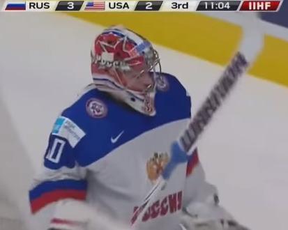 Молодежная сборная России по хоккею обыграла США и вышла в полуфинал. Россия - США. 3-2