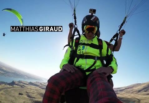 Полетать на параплане с Matthias Giraud и покататься на Веревочных качелях