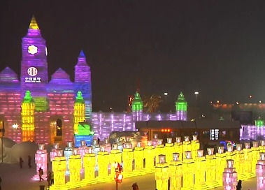 Фестиваль снега и льда в Китае