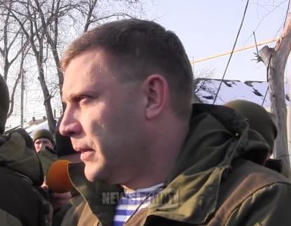 ДНР Захарченко 15.01.2015