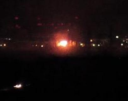 На Южно-украинской АЭС пожар