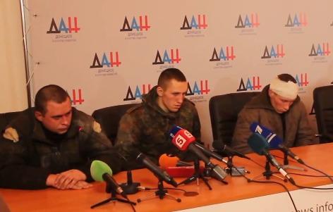 Пресс-конференция Захарченко и пленных укроинцев 20.01.2015